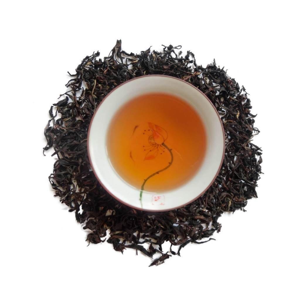 Oolong Belleza Oriental BaiHao licor y hojas PruebaTé
