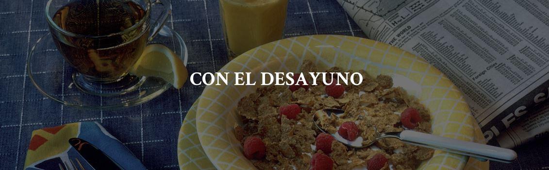 Recomendaciones PruebaTé - Con el desayuno