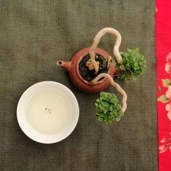 té oolong verde qilai equilibrio presentación