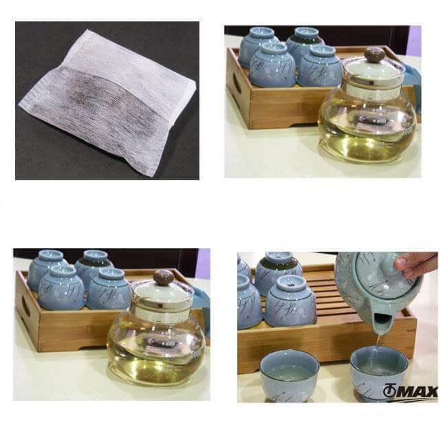 Bolsitas de té tetera PruebaTé