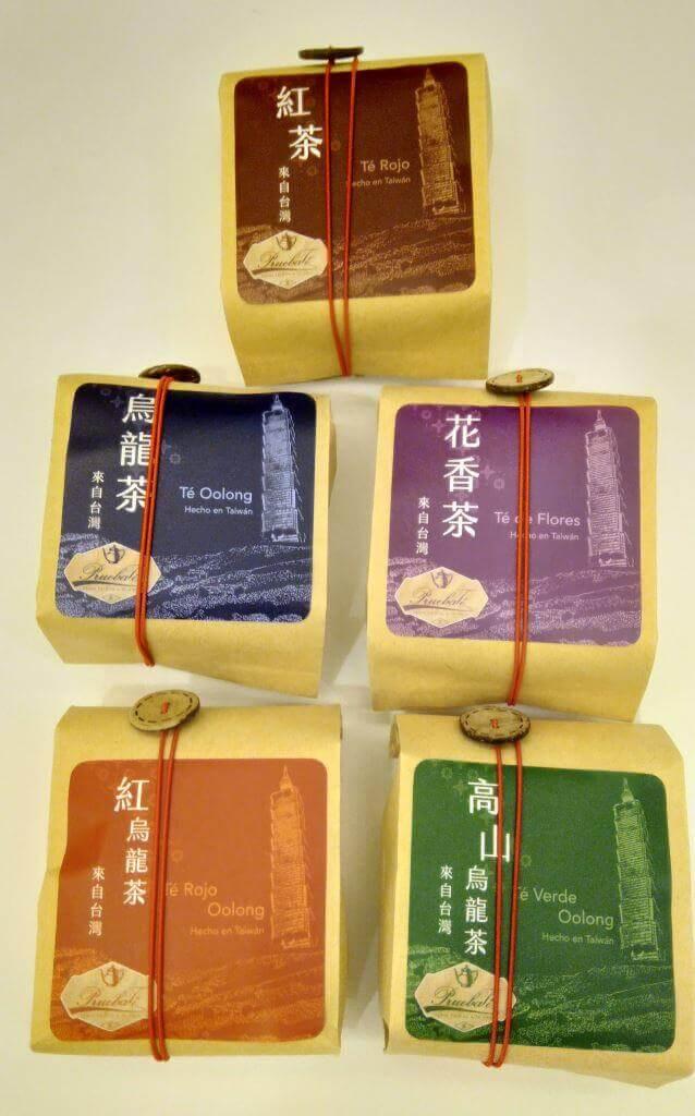 Tea Master empaquetado pruebaTé