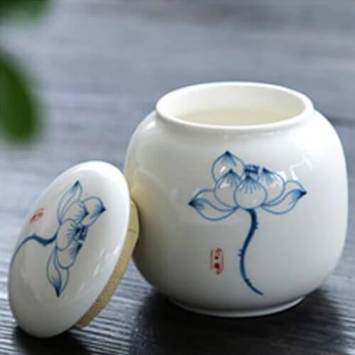 Tarro de porcelana Flor Pruebaté