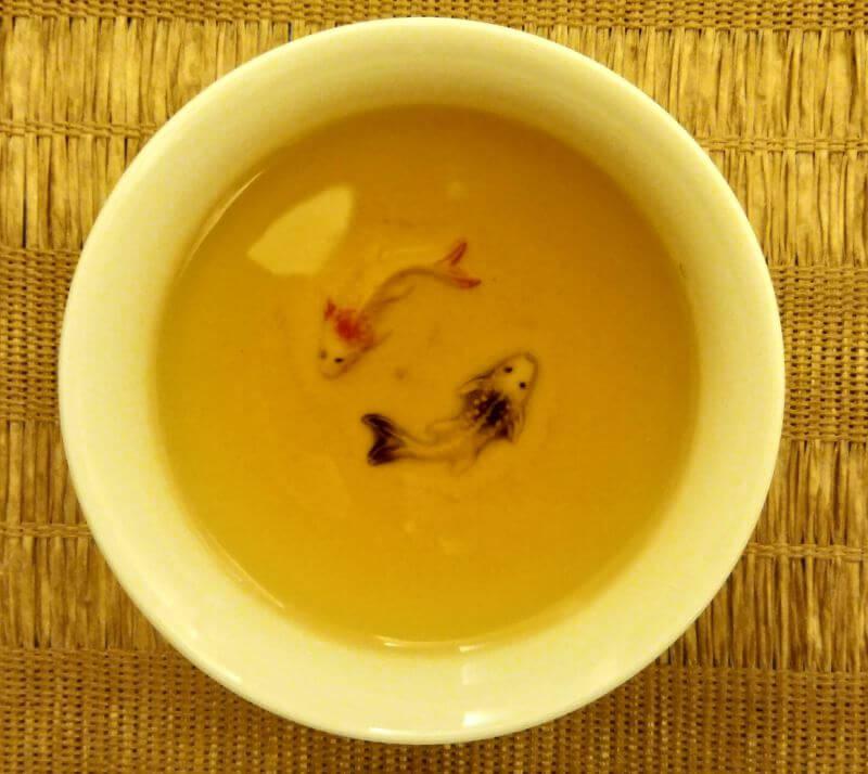 Comprartiva de té bolsita te tieguanyin polvillo PruebaTé