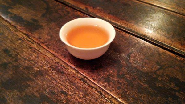 Cata Oolong Dongding envejecido licor PruebaTé