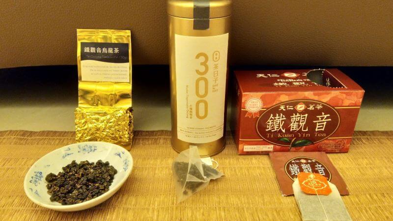 comparativa té a granel vs piramide de té vs bolsita de té PruebaTé