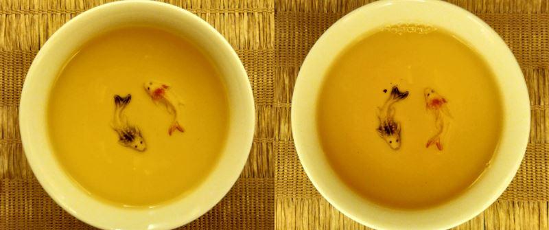 Comparativa de té tieguanyin granel piramide líquido PruebaTé