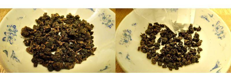 Comparativa tieguanyin a granel vs pirámide tieguanyin PruebaTé