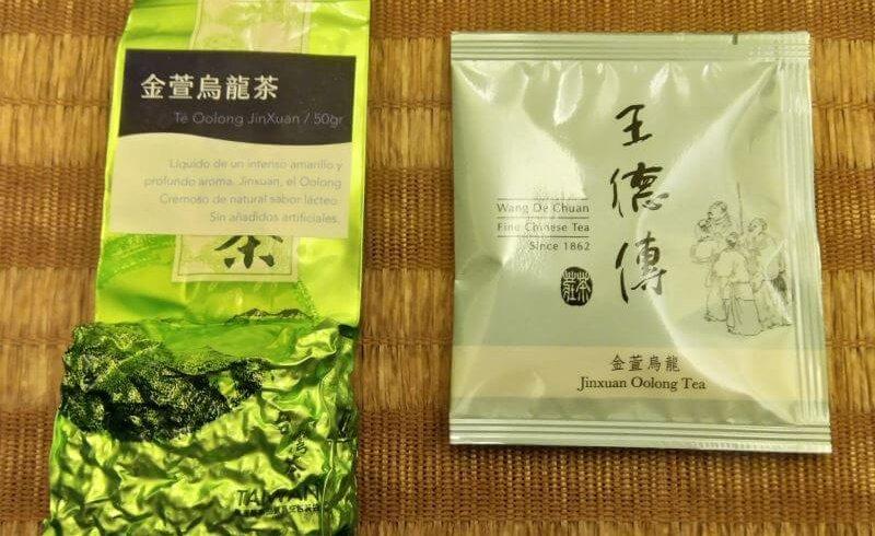 comparativa de té jinxuan milky oolong PruebaTé
