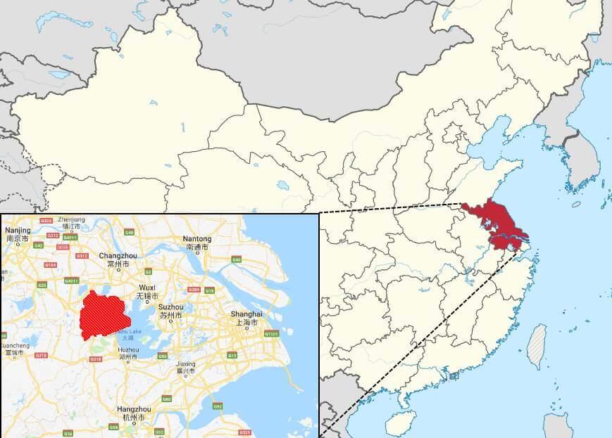 teteras yixing provincia wuxi jiangsu china