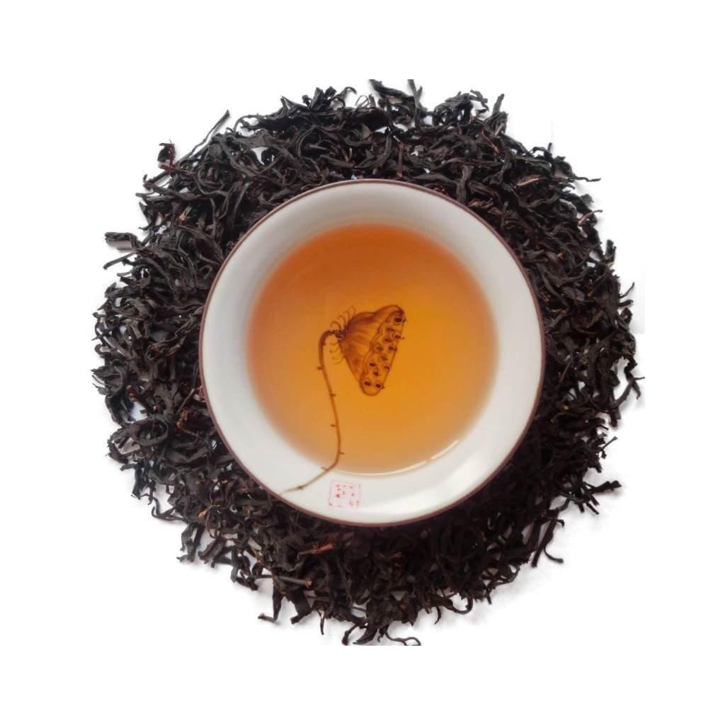 Té rojo Jade HongYu hojas y licor PruebaTé