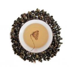 Oolong Cima Helada Dongding licor y hojas PruebaTé