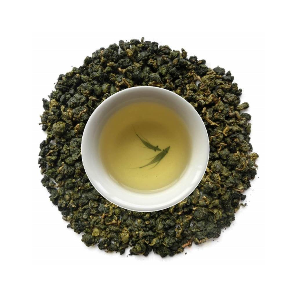 Oolong Verde Alishan alta montaña licor y hojas PruebaTé