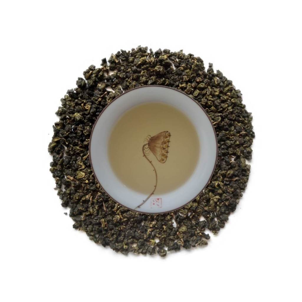 Oolong Verde Aroma de Jazmin licor hojas PruebaTé