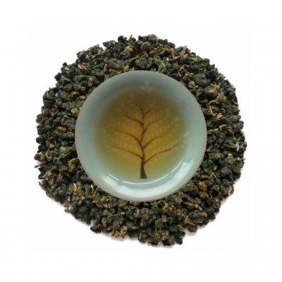 Oolong Verde Lishan alta montaña licor y hojas PruebaTé