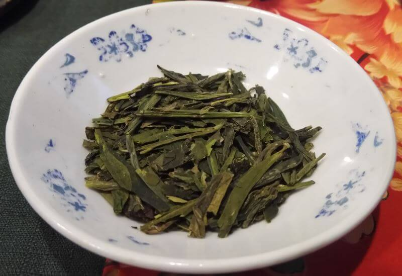 Longjing pozo del dragón té verde chino