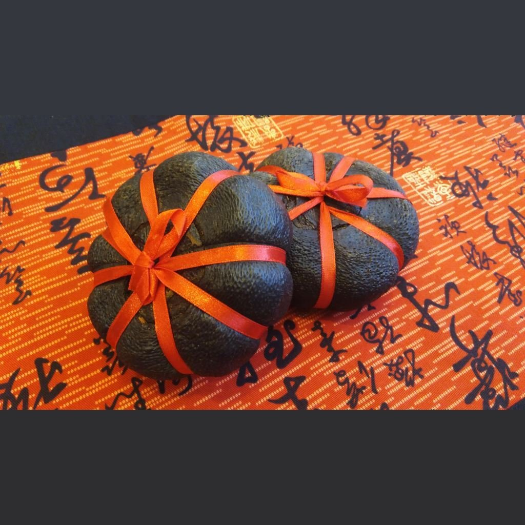 Té Oolong naranja Hakka muestra Pruebaté
