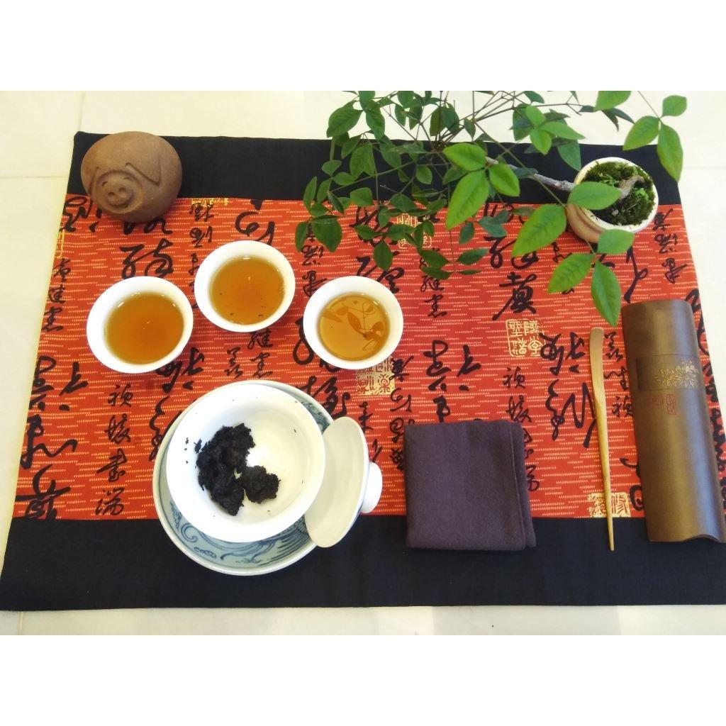 Té Oolong naranja Hakka chaxi Pruebaté