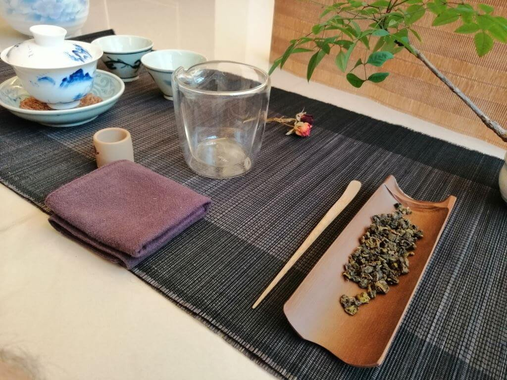 Té oolong aroma de osmanto 2019 presentación