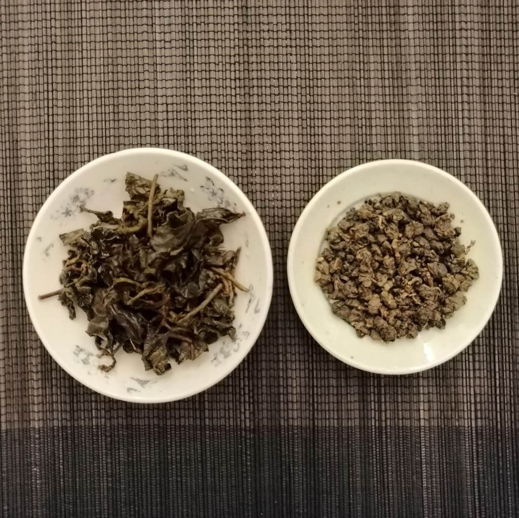 Té oolong chocolate dongding comparativa