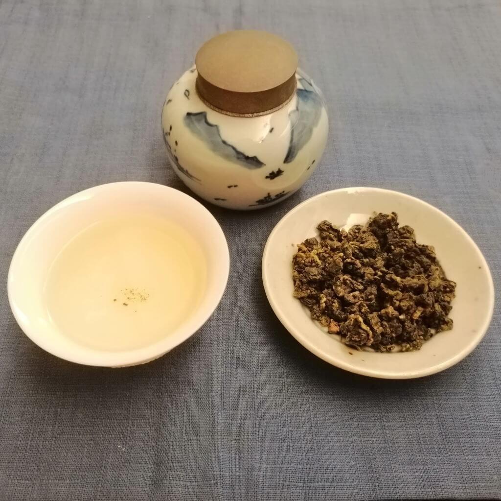 té oolong verde Alishan Pureza