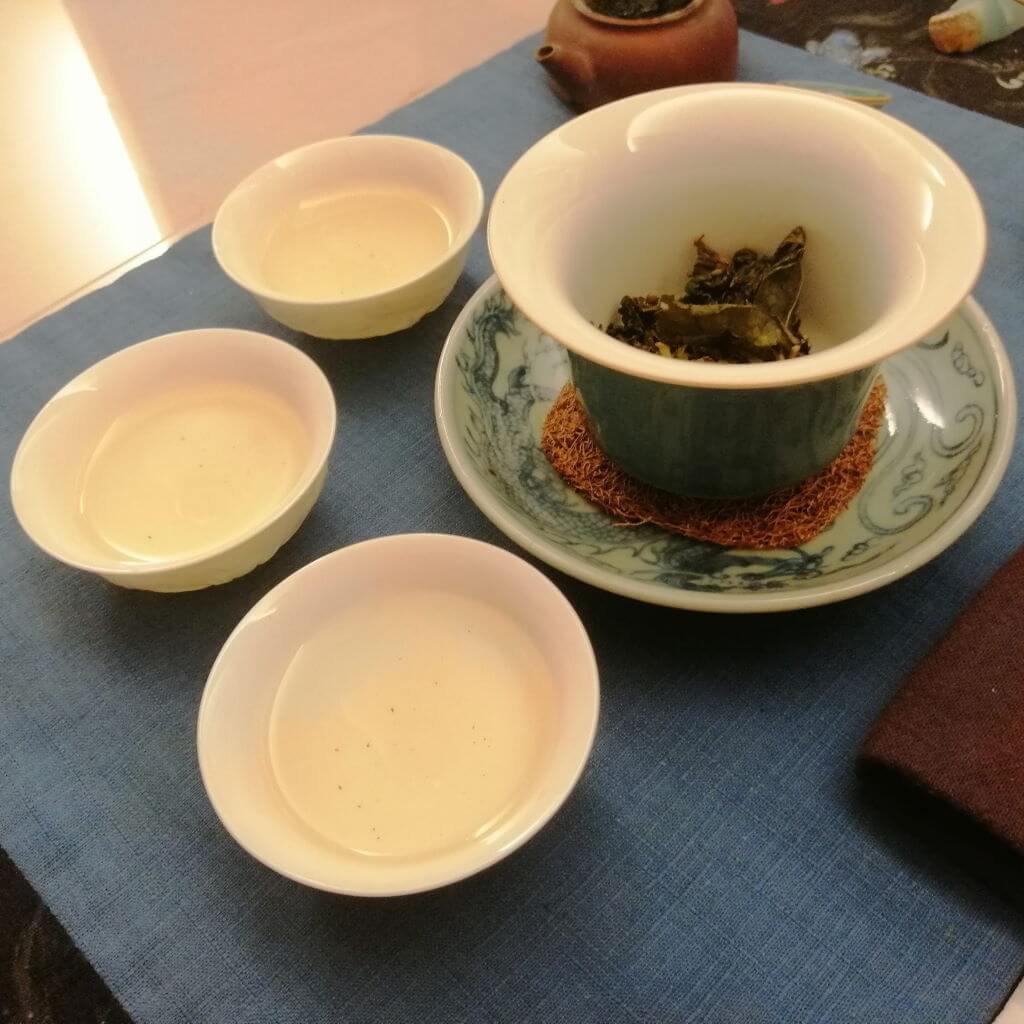 té oolong verde Alishan Pureza chaxi