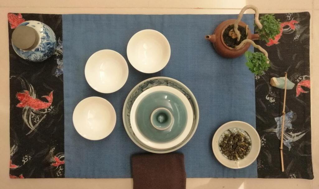 té oolong verde Alishan Pureza chaxi 2