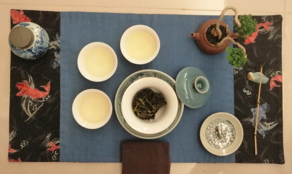 té oolong verde Alishan Pureza chaxi 3