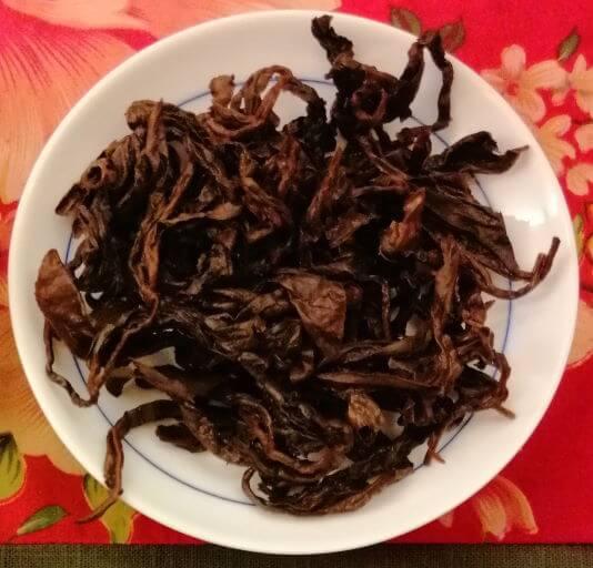 Oolong rojo alegría Hehuanshan hebras húmedas