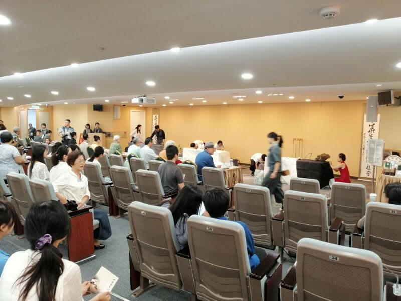 Cómo quedé el último en una competición de té en Taiwán auditorio de la clasificatoria