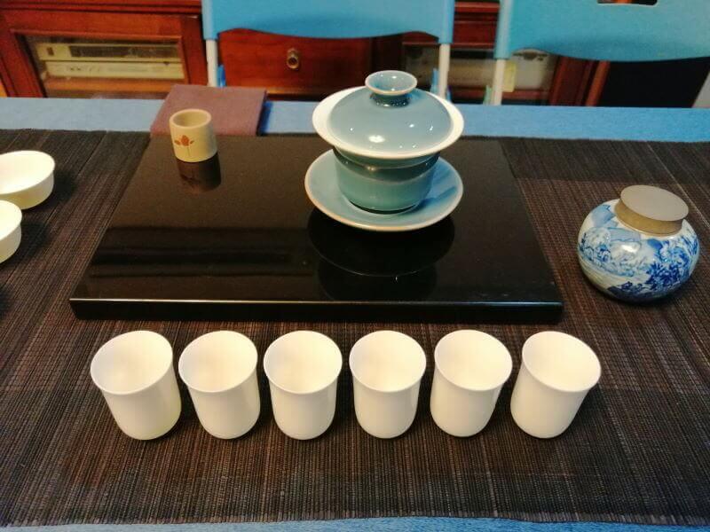 Cómo quedé el último en una competición de té en Taiwán muy vacía