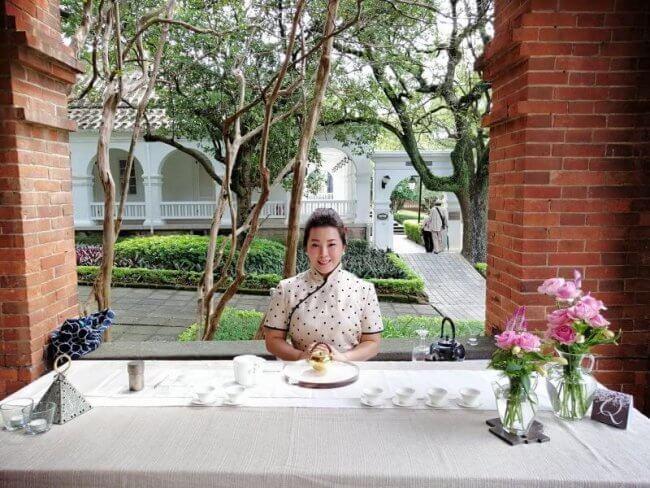Cómo quedé el último en una competición de té en Taiwán paritipante japonés linyin mi profesora