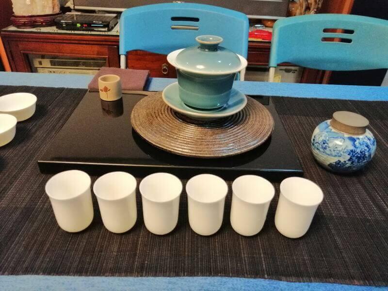 Cómo quedé el último en una competición de té en Taiwán probando ideas