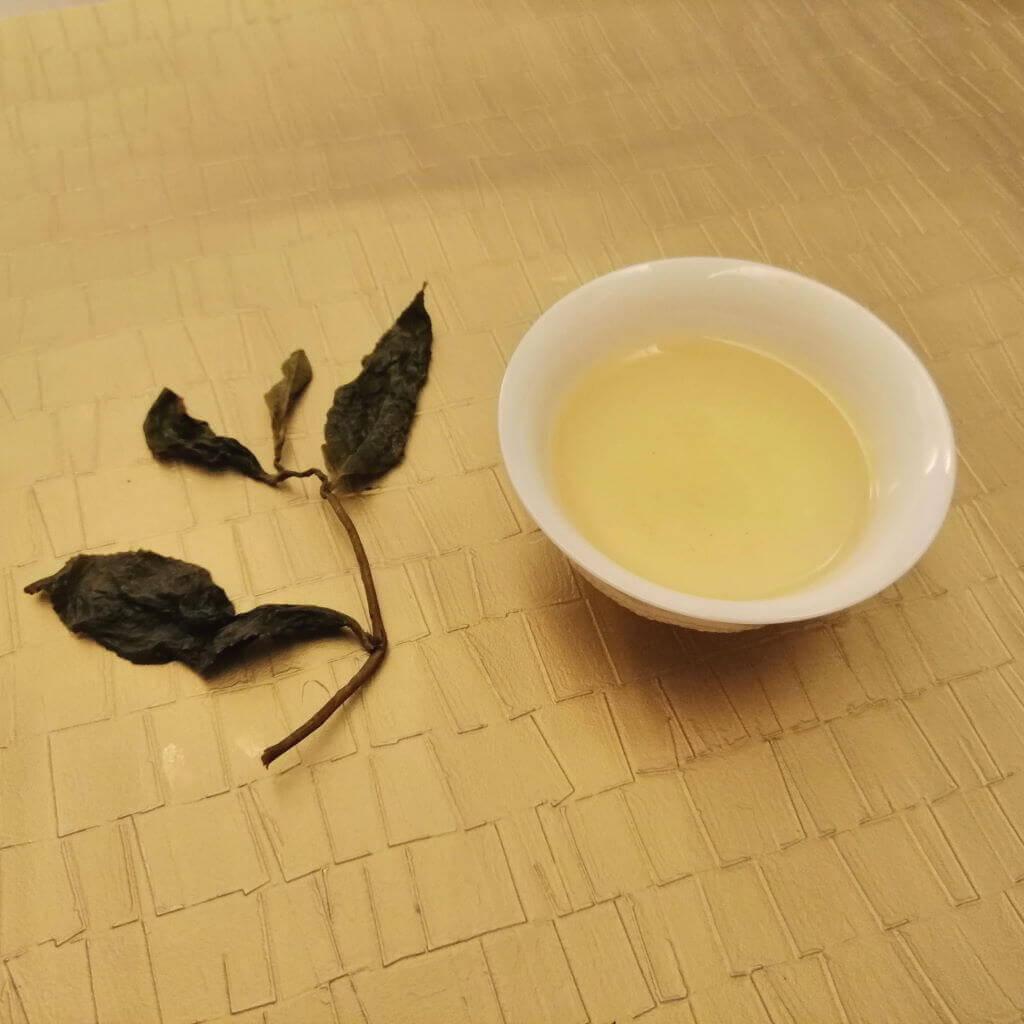 Té oolong verde Shanlinxi orgánico portada